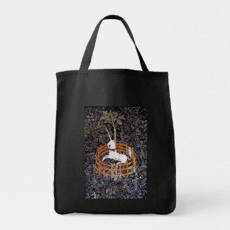 Bolso de la tapicería #7 del unicornio bolsa lienzo
