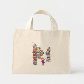 Bolso de la torre del libro bolsas