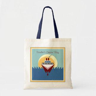 Bolso de la travesía - personalizado con su nombre bolsa tela barata