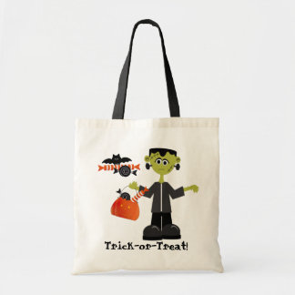 Bolso de la Truco-o-Invitación de Halloween Bolsa Tela Barata