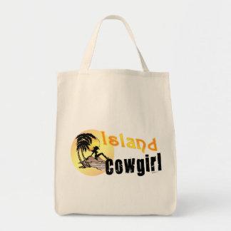 Bolso de la vaquera de la isla bolsa