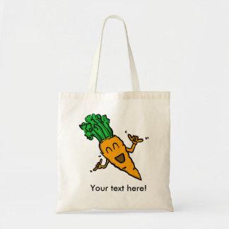 Bolso de la zanahoria de Shaka Bolsa Lienzo