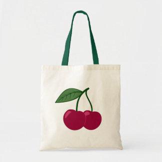 Bolso de las cerezas bolsa tela barata