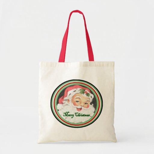 Bolso de las Felices Navidad Bolsa Tela Barata