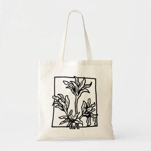 Bolso de las flores bolsas de mano