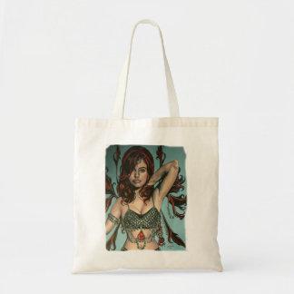 bolso de las ilustraciones del faery del peri bolsas lienzo