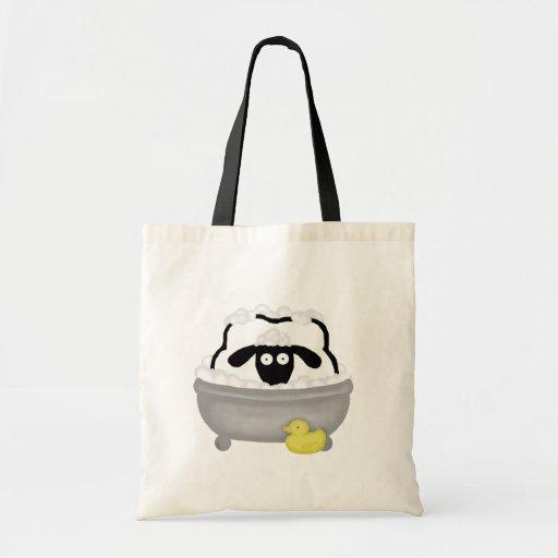 Bolso de las ovejas del tiempo del baño bolsas