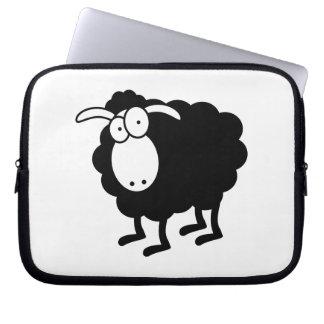 Bolso de las ovejas negras manga computadora