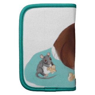 Bolso de las palomitas para el ratón y el gatito organizadores
