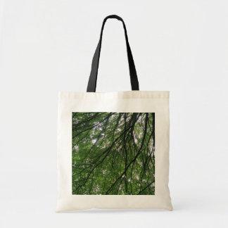 Bolso de las ramas y de las hojas bolsas de mano