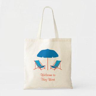 Bolso de las sillas de playa bolsa lienzo