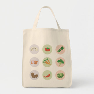 Bolso de las verduras bolsas