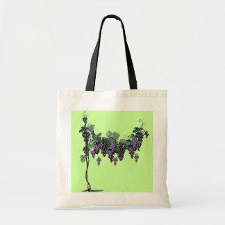Bolso de las vides de uva bolsas