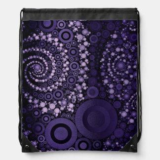 Bolso de lazo abstracto mochilas