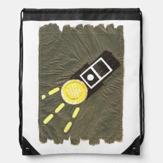 Bolso de lazo de griterío de la luz de antorchas mochilas