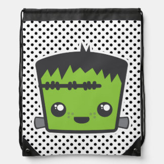 Bolso de lazo de Kawaii Frankenstein Mochilas