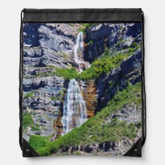 Bolso de lazo de la cascada #1a- de Utah Mochila