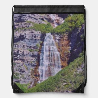 Bolso de lazo de la cascada #1b- de Utah - mirada Mochila