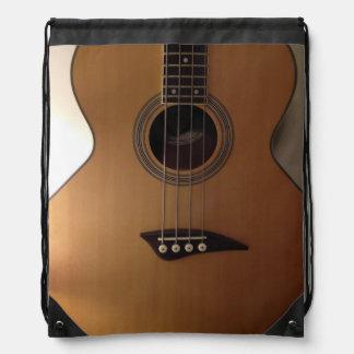 Bolso de lazo de la guitarra baja mochila