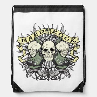 Bolso de lazo de la música de los cráneos y de las mochila