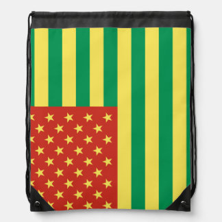 Bolso de lazo de los E.E.U.U. de la bandera de Mochilas