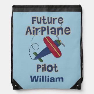 Bolso de lazo futuro personalizado del piloto del mochilas