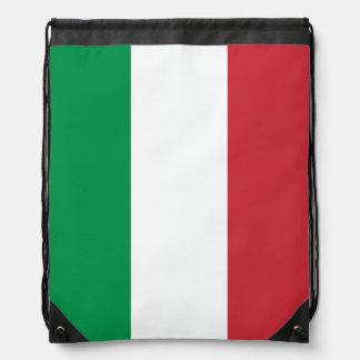 Bolso de lazo italiano de la bandera el | Tricolor Mochilas
