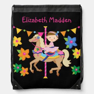 Bolso de lazo personalizado del caballo del mochila