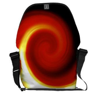 Bolso de levantamiento rojo 1 de Phoenix I SDL Bolsas Messenger