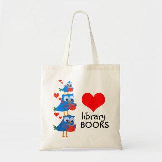 bolso de libros de la biblioteca bolsas