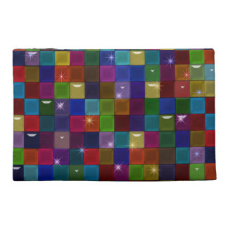 Bolso de los bloques de cristal del color