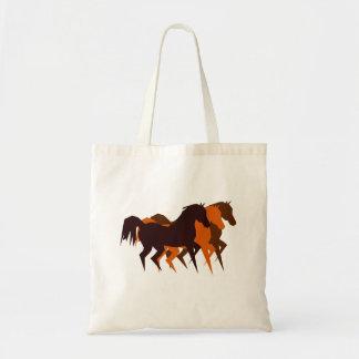Bolso de los caballos del baile