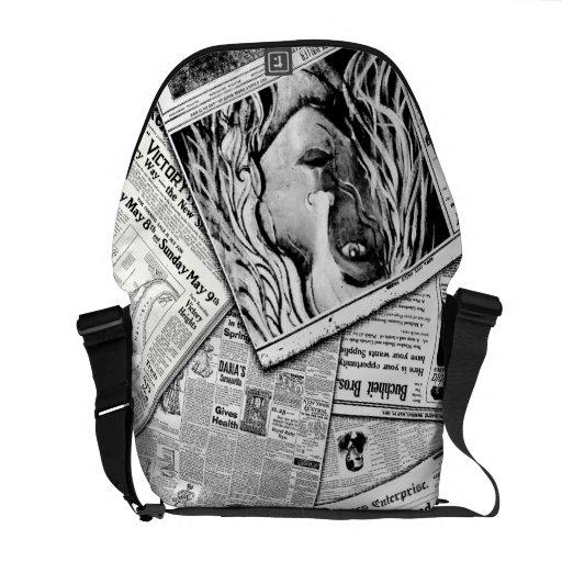 Bolso de los chicas bolsa de mensajeria