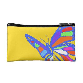 Bolso de los cosméticos de la mariposa