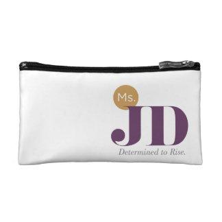 Bolso de los cosméticos de ms JD