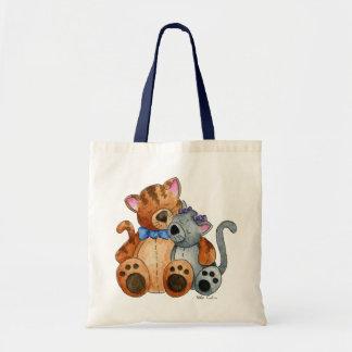 Bolso de los gatitos de la abrazo bolsas