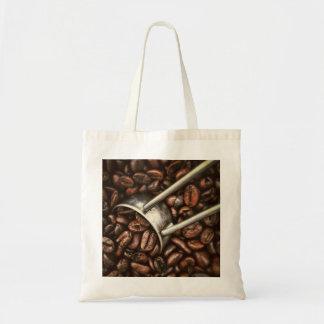 Bolso de los granos de café bolsa tela barata