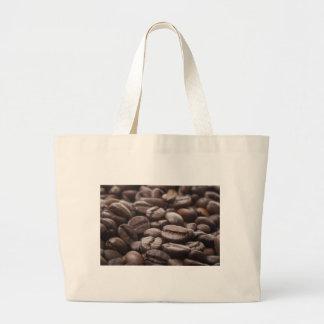 Bolso de los granos de café bolsa tela grande