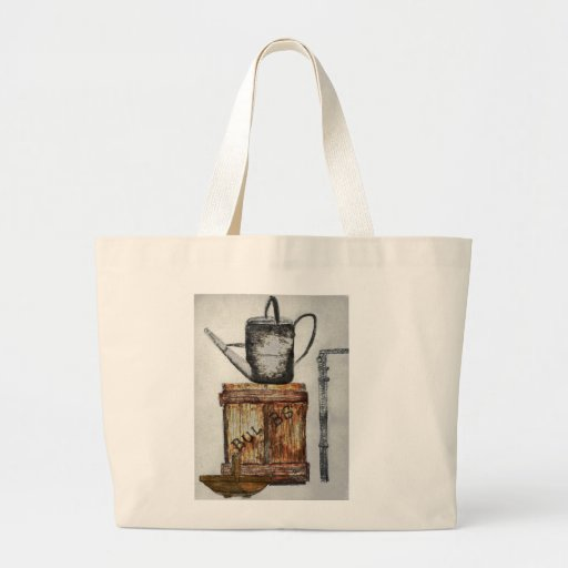 Bolso de los jardineros de la regadera bolsa lienzo