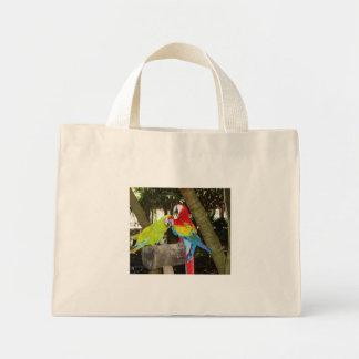 Bolso de los Macaws Bolsa Tela Pequeña