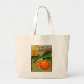 Bolso de los naranjas bolsa tela grande