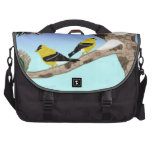 Bolso de los pájaros del invierno bolsas para portátil