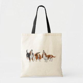 Bolso de los perros de afloramiento del grito bolsas de mano