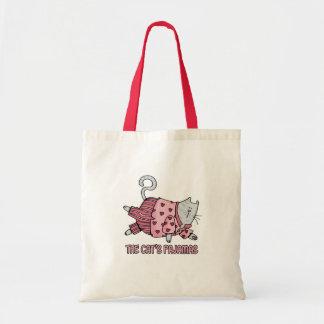 bolso de los pijamas de los gatos bolsa