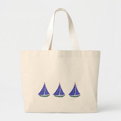Bolso de los veleros bolsa tela grande