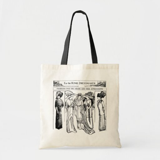 Bolso de los vestidos de la novia 1910 y de los as bolsa tela barata