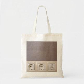 bolso de los zócalos eléctricos bolsa tela barata