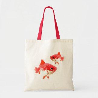 Bolso de lujo del goldfish bolsas lienzo