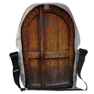 Bolso de madera del ordenador portátil del bolsa de mensajeria