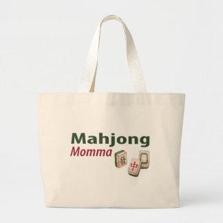 Bolso de Mahjong Momma Bolsa Tela Grande